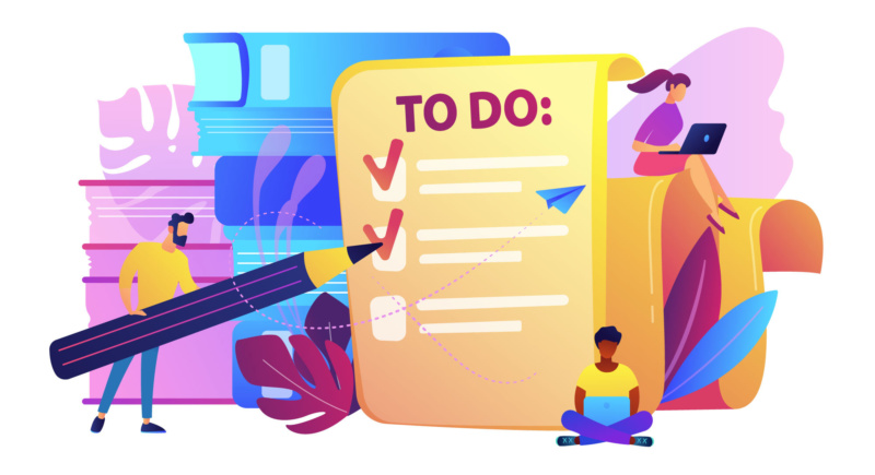 gestire le priorità - priority management - illustration - frezza